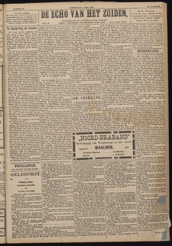 Echo van het Zuiden 1918-04-04
