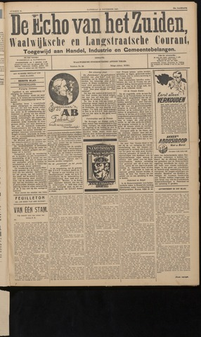 Echo van het Zuiden 1927-11-19