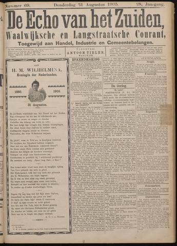Echo van het Zuiden 1905-08-31