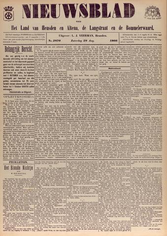 Nieuwsblad het land van Heusden en Altena de Langstraat en de Bommelerwaard 1909-08-28