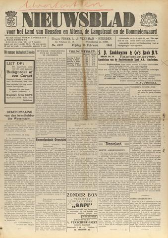 Nieuwsblad het land van Heusden en Altena de Langstraat en de Bommelerwaard 1941-02-28