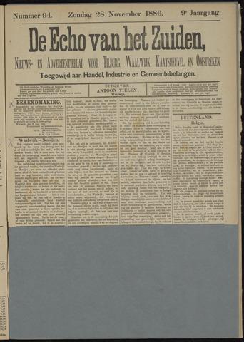Echo van het Zuiden 1886-11-28