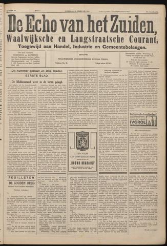 Echo van het Zuiden 1937-02-20