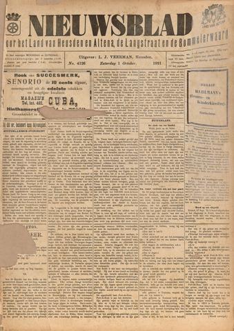 Nieuwsblad het land van Heusden en Altena de Langstraat en de Bommelerwaard 1921-10-01