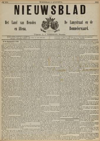 Nieuwsblad het land van Heusden en Altena de Langstraat en de Bommelerwaard 1890-08-06