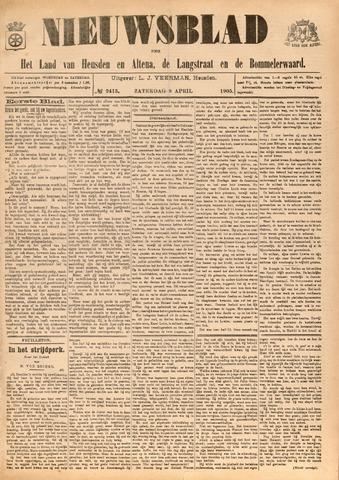 Nieuwsblad het land van Heusden en Altena de Langstraat en de Bommelerwaard 1905-04-08