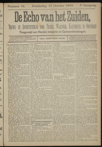 Echo van het Zuiden 1882-10-12