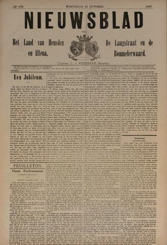 Nieuwsblad het land van Heusden en Altena de Langstraat en de Bommelerwaard 1887-10-12