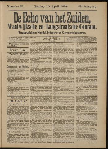 Echo van het Zuiden 1898-04-10