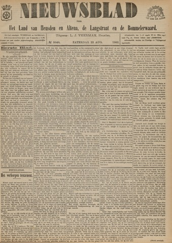Nieuwsblad het land van Heusden en Altena de Langstraat en de Bommelerwaard 1902-08-23