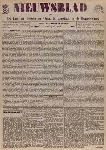 Nieuwsblad het land van Heusden en Altena de Langstraat en de Bommelerwaard 1911-04-15