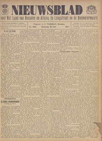 Nieuwsblad het land van Heusden en Altena de Langstraat en de Bommelerwaard 1917-07-25