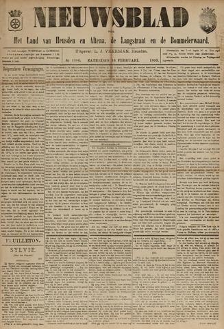 Nieuwsblad het land van Heusden en Altena de Langstraat en de Bommelerwaard 1895-02-16