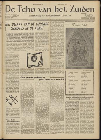 Echo van het Zuiden 1963-04-12