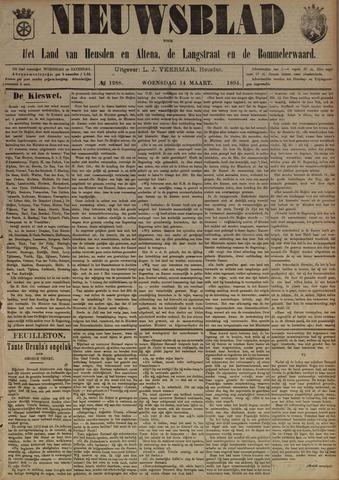 Nieuwsblad het land van Heusden en Altena de Langstraat en de Bommelerwaard 1894-03-14