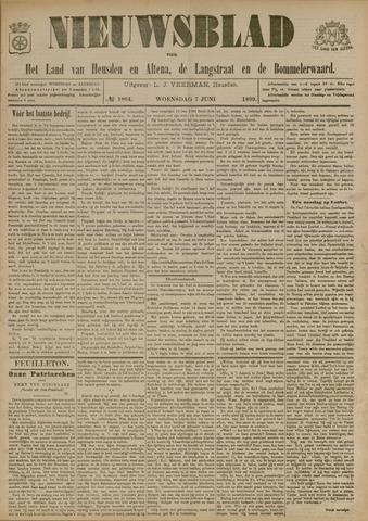Nieuwsblad het land van Heusden en Altena de Langstraat en de Bommelerwaard 1899-06-07