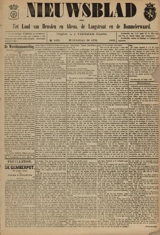 Nieuwsblad het land van Heusden en Altena de Langstraat en de Bommelerwaard 1895-08-28