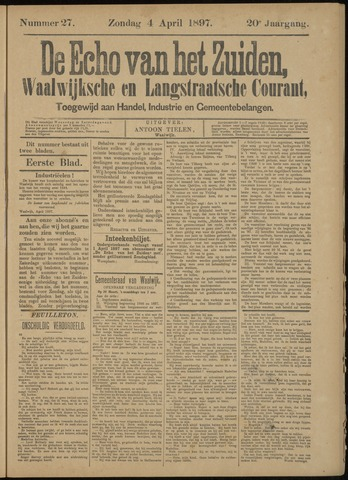 Echo van het Zuiden 1897-04-04