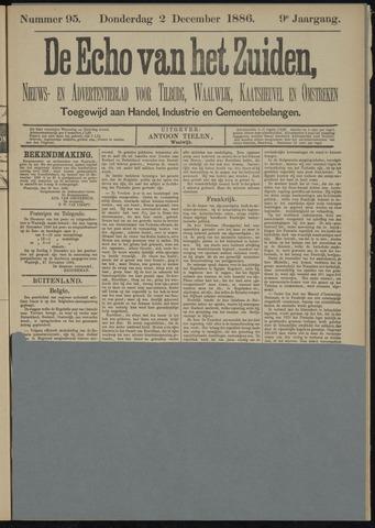 Echo van het Zuiden 1886-12-02