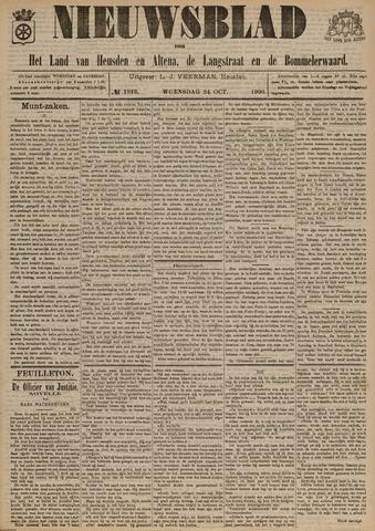 Nieuwsblad het land van Heusden en Altena de Langstraat en de Bommelerwaard 1900-10-24