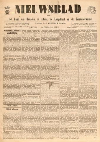 Nieuwsblad het land van Heusden en Altena de Langstraat en de Bommelerwaard 1905-09-30