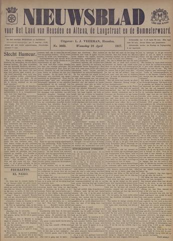 Nieuwsblad het land van Heusden en Altena de Langstraat en de Bommelerwaard 1917-04-18