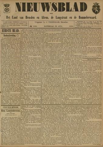 Nieuwsblad het land van Heusden en Altena de Langstraat en de Bommelerwaard 1894-08-25