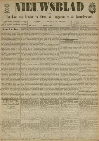 Nieuwsblad het land van Heusden en Altena de Langstraat en de Bommelerwaard 1894-08-04