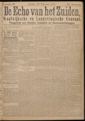 Echo van het Zuiden 1907-02-10