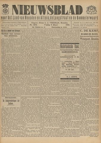 Nieuwsblad het land van Heusden en Altena de Langstraat en de Bommelerwaard 1923-03-09