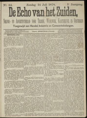 Echo van het Zuiden 1878-07-14