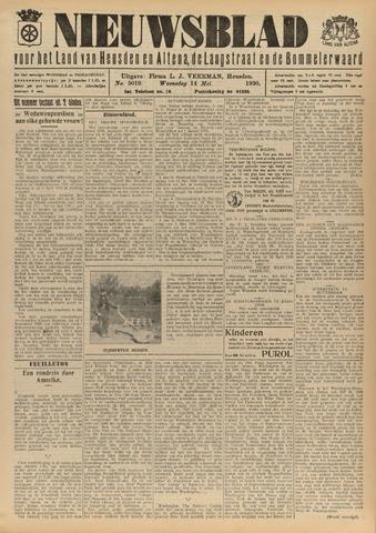 Nieuwsblad het land van Heusden en Altena de Langstraat en de Bommelerwaard 1930-05-14