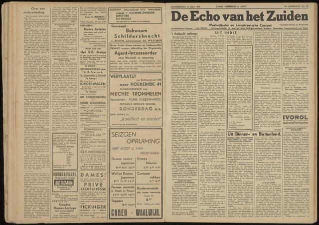 Echo van het Zuiden 1948-07-22