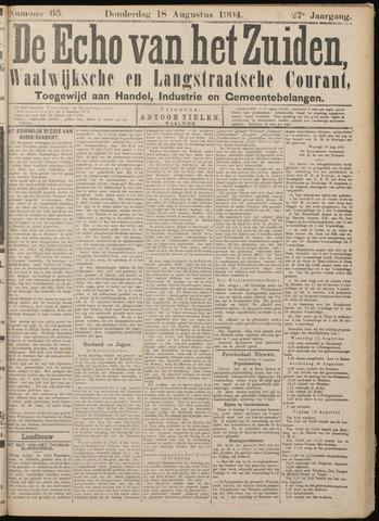 Echo van het Zuiden 1904-08-18