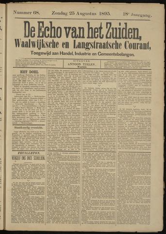 Echo van het Zuiden 1895-08-25