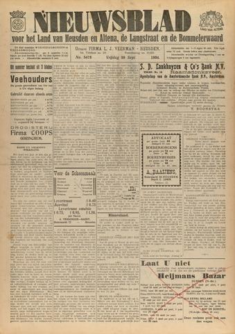 Nieuwsblad het land van Heusden en Altena de Langstraat en de Bommelerwaard 1934-09-28