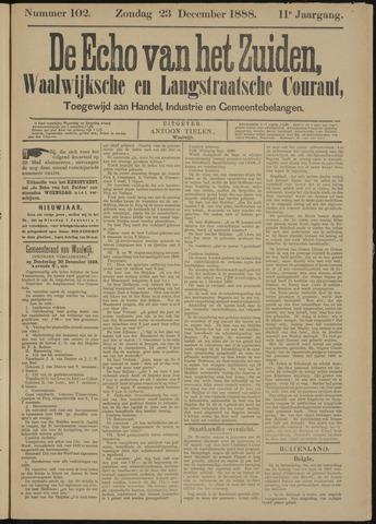 Echo van het Zuiden 1888-12-23