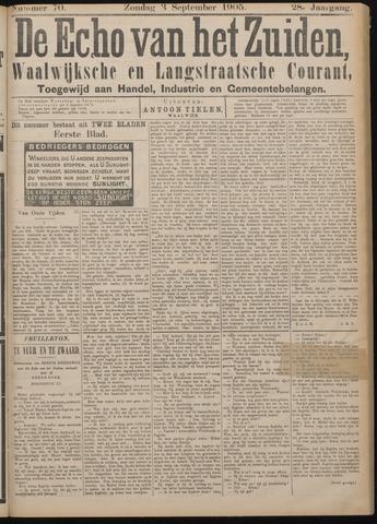 Echo van het Zuiden 1905-09-03