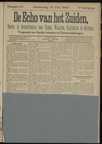 Echo van het Zuiden 1886-07-22