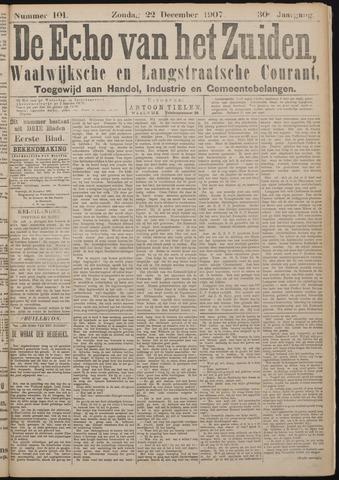 Echo van het Zuiden 1907-12-22