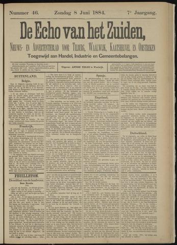 Echo van het Zuiden 1884-06-08
