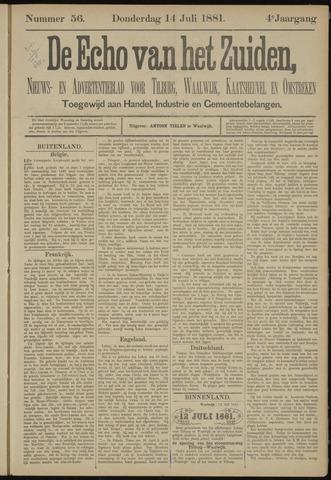 Echo van het Zuiden 1881-07-14
