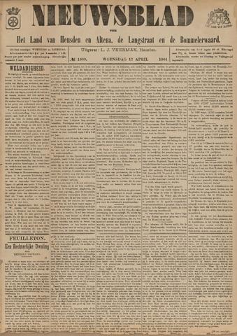 Nieuwsblad het land van Heusden en Altena de Langstraat en de Bommelerwaard 1901-04-17