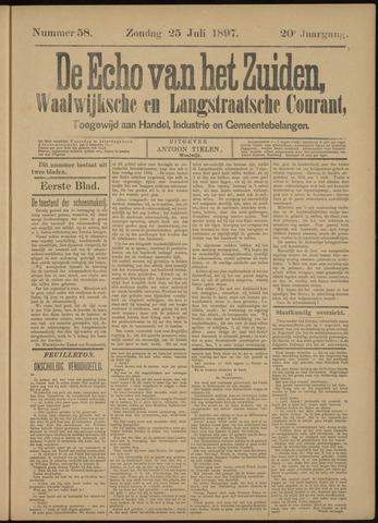 Echo van het Zuiden 1897-07-25