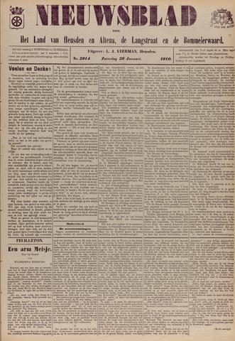Nieuwsblad het land van Heusden en Altena de Langstraat en de Bommelerwaard 1910-01-29