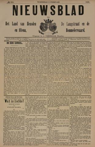 Nieuwsblad het land van Heusden en Altena de Langstraat en de Bommelerwaard 1888-02-08