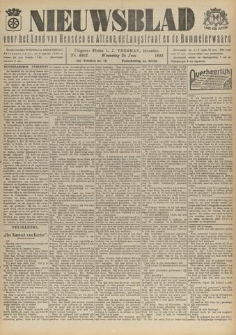 Nieuwsblad het land van Heusden en Altena de Langstraat en de Bommelerwaard 1925-06-24