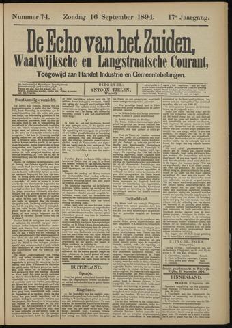 Echo van het Zuiden 1894-09-16
