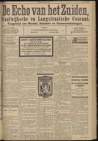 Echo van het Zuiden 1930-04-19