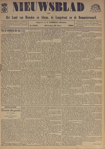Nieuwsblad het land van Heusden en Altena de Langstraat en de Bommelerwaard 1908-06-24